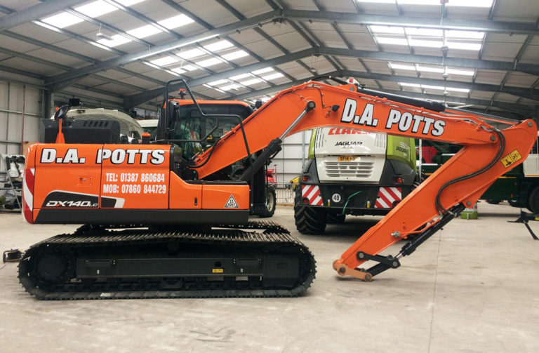 D.A. Potts Plant Hire
