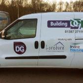 Building Services van